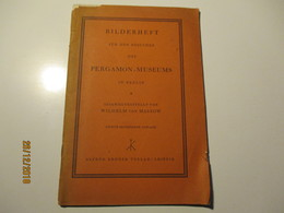 1930 Germany  BILDERHEFT PERGAMON MUSEUM IN BERLIN   , O - Musei & Esposizioni