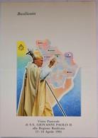 1991 - VISITA PASTORALE DI S.S. GIOVANNI PAOLO II ALLA REGIONE BASILICATA  - FG  NON VG - Unclassified