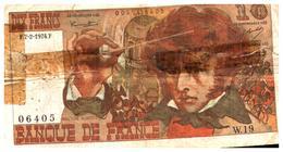 Billet  >  France > 10  Francs  1974 - 1962-1997 ''Francs''