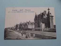 HERMANVILLE Sur Mer / Le BOULEVARD ( CASINO - GOLF - TENNIS ) Anno 19?? ( Voir Photo ) ! - Caen