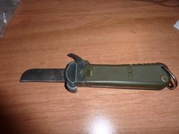 Couteau Para  Allemand à Gravité AES78 Poignard, Stylet, Autres Non Classés - Armes Blanches