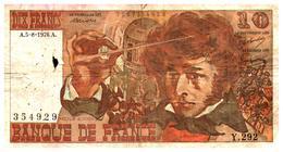 Billets >  France > 10  F 1976 - 1962-1997 ''Francs''