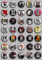 35 X Rancid Band Music Fan ART BADGE BUTTON PIN SET 1 (1inch/25mm Diameter) - Music