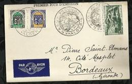 PREMIER JOUR . F.N.A.S.O.R XIeme CONGRES . 11 AVRIL 1952 . ALGER . - Algérie (1924-1962)