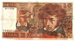 Billets >  France > 10  F 1978 - 1962-1997 ''Francs''