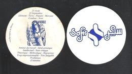 Bierviltje - Sous-bock - Bierdeckel -  SAFIR - VIERGE - 23 AOUT - 22 SEPTEMBRE (B 939) - Sotto-boccale