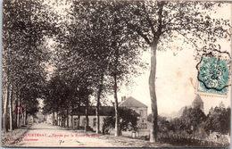 45 COURTENAY - Entrée De La Route De Sens - Courtenay
