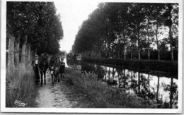 41 VILLEFRANCHE SUR CHER - Le Canal Du Berry - Otros Municipios