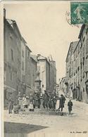 Puy De Dome : Thiers, La Rue Chonchette, Belle Animation... - Thiers