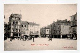 - CPA EPINAL (88) - La Place Des Vosges (GRANDE PHARMACIE NOUVELLE) - Edition E. Jacques - - Epinal
