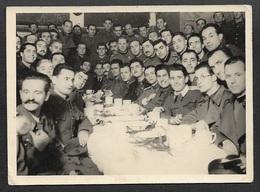 1942-43 - ORIGINAL PHOTOGRAPH - OFLAG XXI-C - PRISONER OF WAR CAMP - WARTHEGAU 13cm X 7.5cm - Krieg, Militär