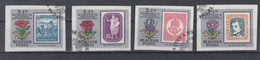 Hungary 1971 Mi 2684-7 B Imperf Stamp On Stamps - Hungary