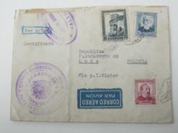 1936, Guerre  , Carta Censurado A Polonia - 1931-Hoy: 2ª República - ... Juan Carlos I
