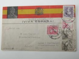 1939, Guerre , Valladolid , Carta Censurado A Alemania - 1931-Hoy: 2ª República - ... Juan Carlos I