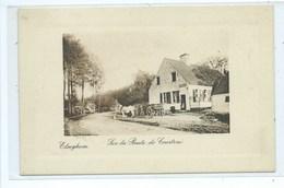 Elseghem Sur La Route De Courtrai - Wortegem-Petegem