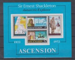 Ascension Is. 1972 Mi Bl 5 Mnh Shackleton - Timbres
