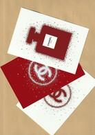 CHANEL  3 Superbes Grandes Cartes Glacées Edition Limitée Noël 2018 (15/10cm) - Perfume Cards
