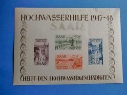 SARRE BELLE COLLECTION AVEC BLOC 1947/48 TIMBRES MAJORITE NEUFS* - Saar