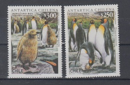 Chile 1996 Mi 1786-7 Mnh Penguins - Chili