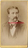 CDV Par Ambrosetti Photographe Sa Majesté Roi D'Italie TORINO--Beau Portrait D'homme - Fotos