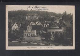 Dt. Reich AK Bad Liebenstein 1921 Gelaufen - Bad Liebenstein