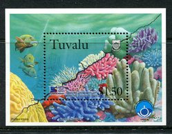 Tuvalu 1998 Coral Reef Life - 4th Issue MS MNH (SG MS826) - Tuvalu