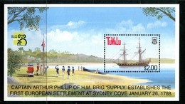 Tuvalu 1999 Australia '99 - Ships - 6th Issue MS MNH (SG MS836) - Tuvalu