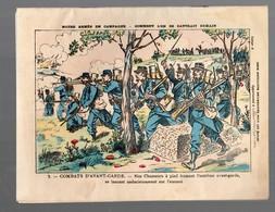 Cahier D'écolier Avec Couverture Illustrée : Notre Armée En Campagne : 3 Combats D'avant Garde (PPP10049) - Protège-cahiers