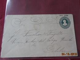 Entier Postal D Equateur Pour Pelileo En 1897/1898 - Equateur