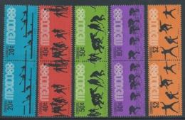 1968 MESSICO OLIMPIADI MEXICO 68 MNH ** - F5 - Estate 1968: Messico