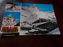 B705  Breuil Valle D'aosta Complesso Residenziale Cieloalto Non Viaggiata - Italia