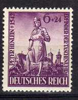Deutsches Reich, 1942, Mi 819 ** Peter Henlein [261218StkKV] - Unused Stamps