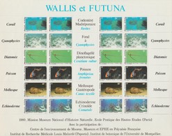 Wallis Et Futuna 1981 Faune Et Flore Pélagiques 267-272 En Feuille ** MNH - Wallis And Futuna