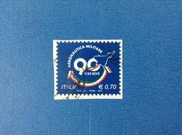 2013 ITALIA FRANCOBOLLO USATO STAMP USED - AERONAUTICA MILITARE - 6. 1946-.. Repubblica