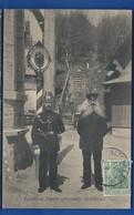 LA SCHLUCHT   Frontière Franco-Allemande Douaniers     Animées  écrite En1912 - France