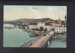 Österreich AK Gmunden Brücke 1909 - Gmunden