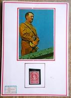 DR Hitler Mi.Nr. 887 Postfrisch ** Auf Selbstgestaltem Sammlerblatt Foto Hitler In Uniform - Deutschland