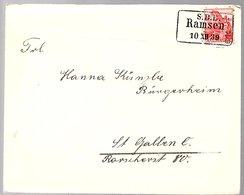 Zug Train S.B.B. RAMSEN 1939  (409) - Briefe U. Dokumente