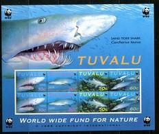 Tuvalu 2000 Sand Tiger Shark Sheetlet (2 Sets) MNH (SG 872-875) - Tuvalu