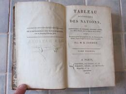 Tableau Historique Des Nations - E Jondot 1808 Tom 1 - Bücher, Zeitschriften, Comics
