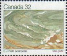 USED STAMPS Canada - Canadian Writers-1983 - 1952-.... Reign Of Elizabeth II