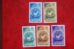 Paaszegels ; NVPH Nr: 511-515 Mi 553-557 ; 1969 POSTFRIS MNH ** SURINAME / SURINAM - Surinam ... - 1975