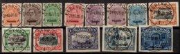 BELGIQUE -  MALMEDY -  13 Valeurs De 1920 Oblitérées TTB - Guerre 14-18