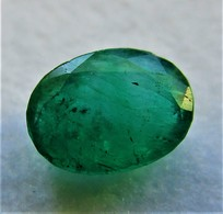GS 0229 - Emerald - Oval Cut - Size 6,2 X 4,5 Mm - 0.60 Carat - Smaragd