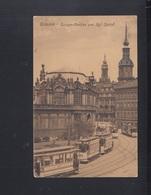 Dt. Reich AK Dresden Strassenbahnen 1909 - Strassenbahnen