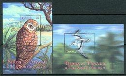 Tuvalu 2000 South Pacific Birds MS (3) Set MNH (SG MS951a-b) - Tuvalu