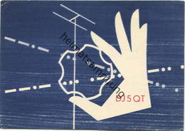 QSL - Funkkarte - DJ5QT - Erlangen - 1960 - Amateurfunk
