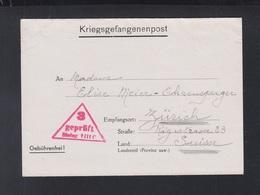 Kriegsgefangenenpost Stalag VIII C Sagan Polen Poland Franzose Nach Schweiz - Duitsland