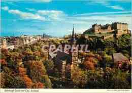 CPM Edinburgh Castle And City Scotland - Midlothian/ Edinburgh