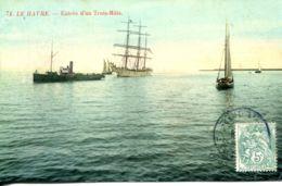 N°68340 -cpa Le Havre -entrée D'un Trois Mats- - Commerce